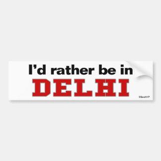 Estaría bastante en Delhi Pegatina Para Coche
