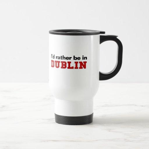 Estaría bastante en Dublín Tazas De Café