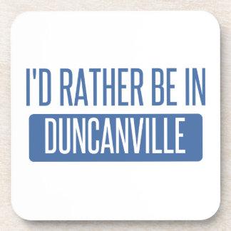 Estaría bastante en Duncanville Posavasos