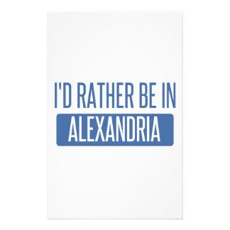 Estaría bastante en el LA de Alexandría Papeleria