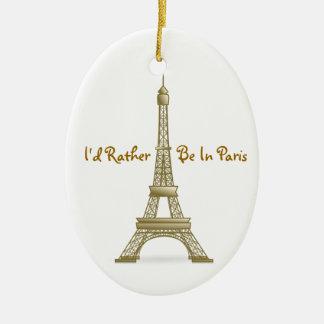 Estaría bastante en el monumento de la torre adorno ovalado de cerámica
