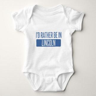 Estaría bastante en el NE de Lincoln Body Para Bebé