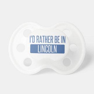 Estaría bastante en el NE de Lincoln Chupetes Para Bebes