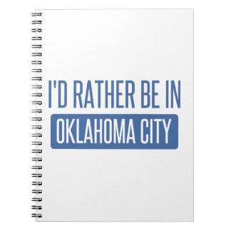 Estaría bastante en el Oklahoma City Cuaderno