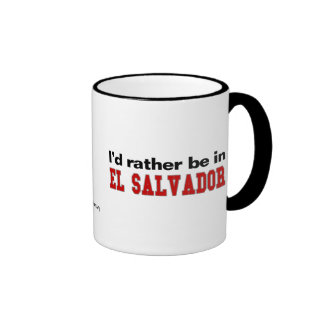 Estaría bastante en El Salvador Taza De Café