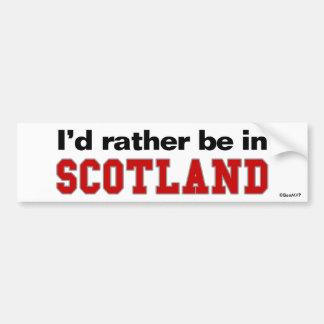 Estaría bastante en Escocia Pegatina Para Coche