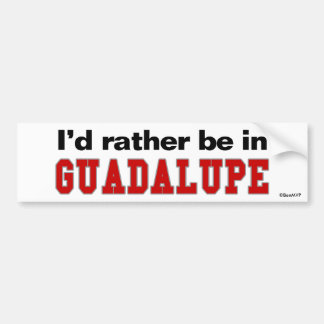 Estaría bastante en Guadalupe Pegatina Para Coche