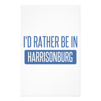 Estaría bastante en Harrisonburg Papelería De Diseño