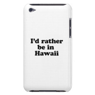 Estaría bastante en Hawaii Barely There iPod Carcasa
