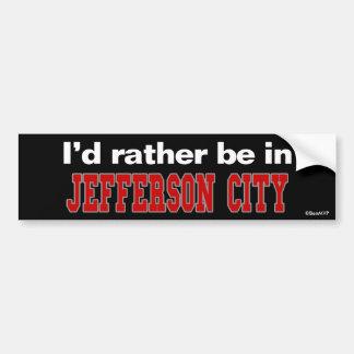 Estaría bastante en jefferson city pegatina para coche
