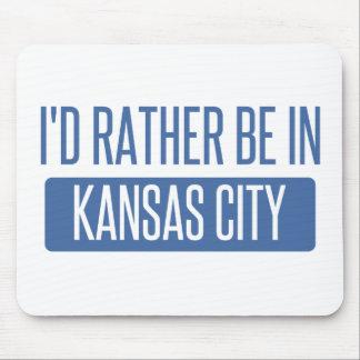 Estaría bastante en Kansas City KS Alfombrilla De Ratón