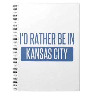 Estaría bastante en Kansas City KS Cuaderno