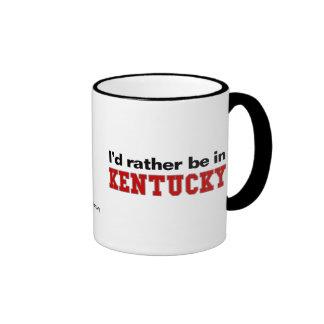 Estaría bastante en Kentucky Taza De Café