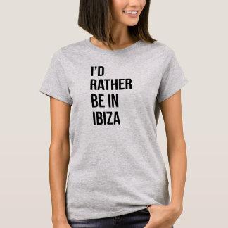 Estaría bastante en la camiseta Tumblr de Ibza
