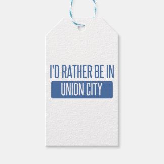 Estaría bastante en la ciudad CA de la unión Etiquetas Para Regalos