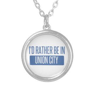 Estaría bastante en la ciudad NJ de la unión Collar Plateado