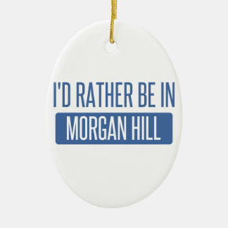 Estaría bastante en la colina de Morgan Adorno De Cerámica