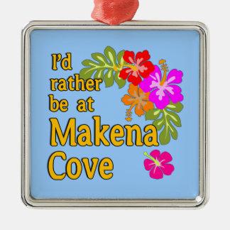 Estaría bastante en la ensenada Hawaii de Makena Ornamento De Reyes Magos