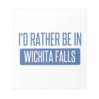 Estaría bastante en las caídas de Wichita Bloc De Notas