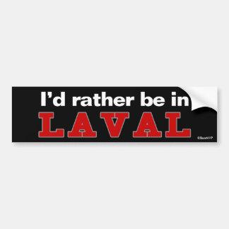Estaría bastante en Laval Pegatina Para Coche
