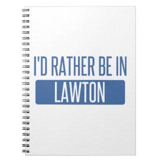 Estaría bastante en Lawton Cuaderno