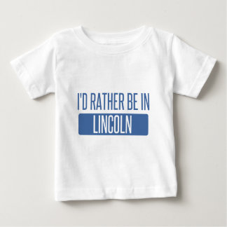Estaría bastante en Lincoln CA Camiseta De Bebé