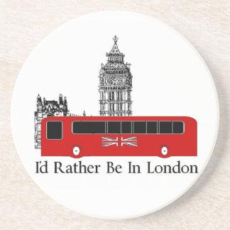 Estaría bastante en Londres Posavasos Manualidades