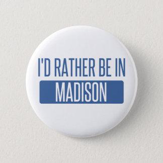 Estaría bastante en los WI de Madison Chapa Redonda De 5 Cm