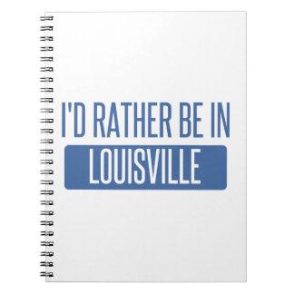 Estaría bastante en Louisville Cuaderno