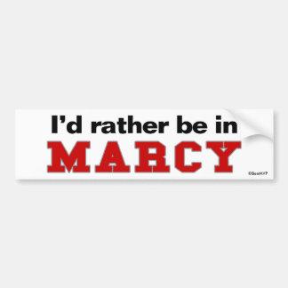 Estaría bastante en Marcy Pegatina Para Coche