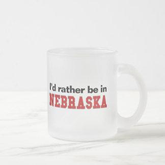 Estaría bastante en Nebraska Tazas De Café