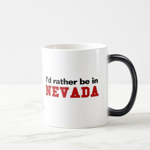 Estaría bastante en Nevada Tazas De Café