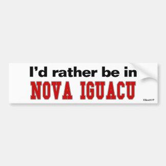 Estaría bastante en Nova Iguacu Pegatina Para Coche