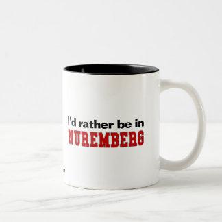 Estaría bastante en Nuremberg Taza