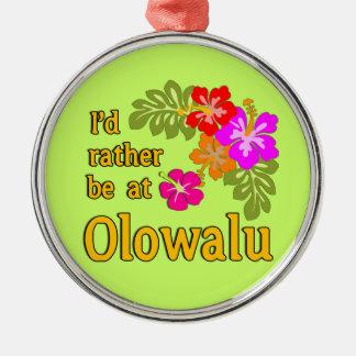 Estaría bastante en Olowalu Hawaii Ornamento De Reyes Magos