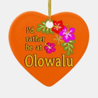 Estaría bastante en Olowalu Hawaii Ornamentos De Reyes