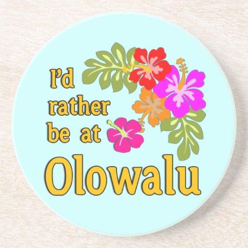 Estaría bastante en Olowalu Hawaii Posavasos Manualidades