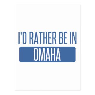 Estaría bastante en Omaha Postal