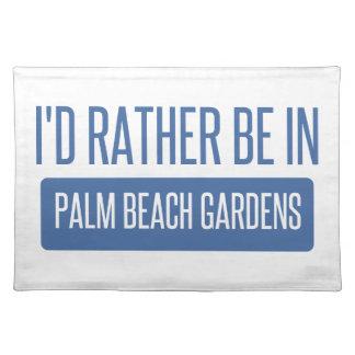 Estaría bastante en Palm Beach Gardens Salvamanteles