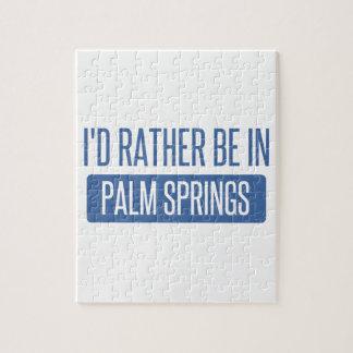 Estaría bastante en Palm Springs Puzzle
