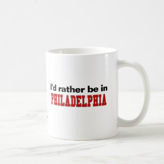 Estaría bastante en Philadelphia Taza De Café