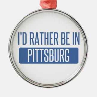 Estaría bastante en Pittsburg Adorno De Cerámica