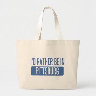 Estaría bastante en Pittsburg Bolso De Tela Gigante