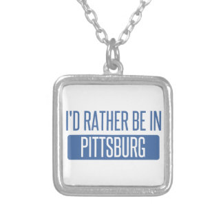Estaría bastante en Pittsburg Collar Plateado