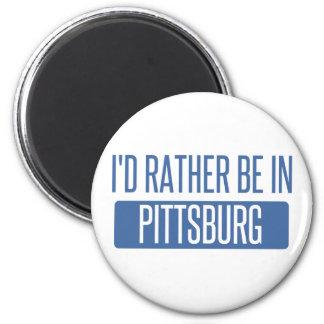 Estaría bastante en Pittsburg Imán
