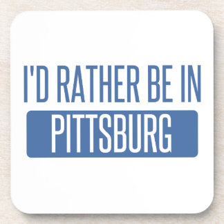 Estaría bastante en Pittsburg Posavasos
