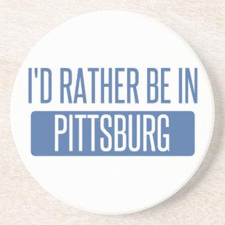 Estaría bastante en Pittsburg Posavasos De Arenisca
