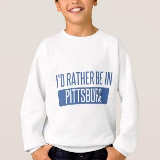 Estaría bastante en Pittsburg Sudadera