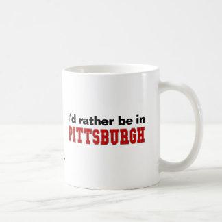 Estaría bastante en Pittsburgh Tazas
