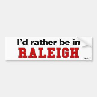 Estaría bastante en Raleigh Pegatina Para Coche